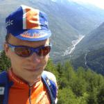 Alpentouren mit Kappe